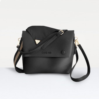 The Nadia Bag in Black