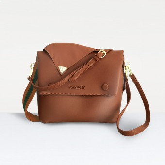 The Nadia Bag in Brown