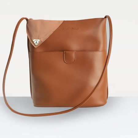 The Mimi Bag in Brown
