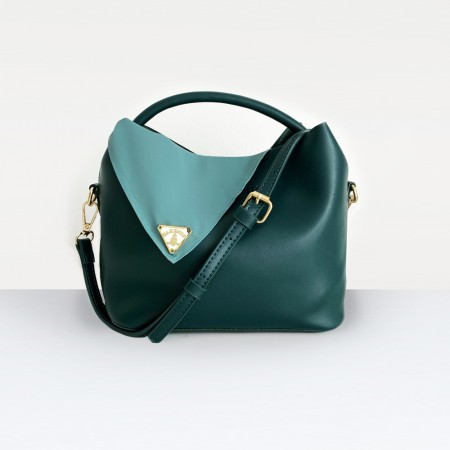 The Alisa Bag in Teal