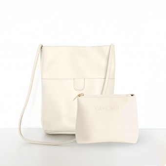 The Mimi Bag in Ivory