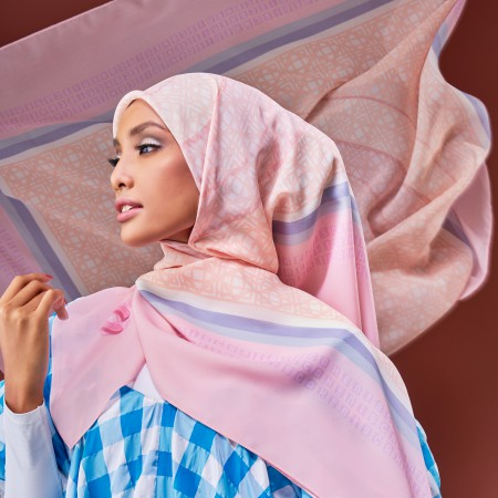 Bawal Entwine Cake in Pink