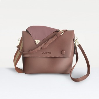 The Nadia Bag in Mauve