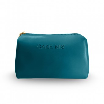 Cakenis Make-Up Pouch in Teal