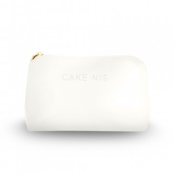 Cakenis Make-Up Pouch in White