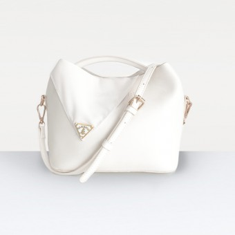The Alisa Bag in White
