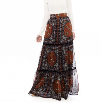 Kelly Skirt in Orange