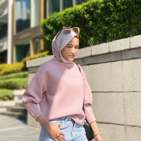 Cakenis Puff Jumper in Pink